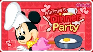 getlinkyoutube.com-♡ Minnie's Dinner Party - Mickey Mouse Baby Cooking Games for Kids