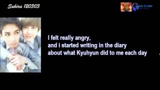 [ENG] Ryeowook wanted get his revenge toward Kyuhyun