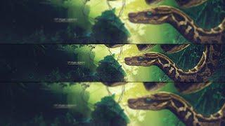 getlinkyoutube.com-Sirius YT 3D Banner Speed Art // C4D & PHOTOSHOP  // ARYOJJ