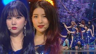 《Comeback Special》 GFRIEND(여자친구) - Time for the moon night(밤) @인기가요 Inkigayo 20180506