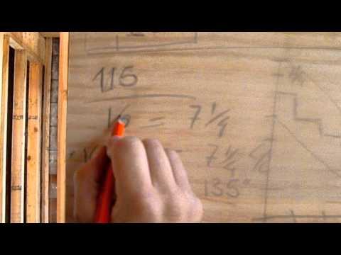 como hacer escaleras de madera #1(CALCULO)