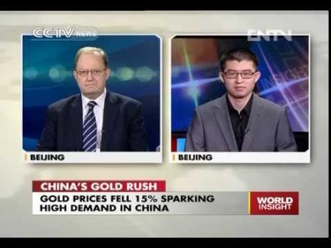 China's gold rush