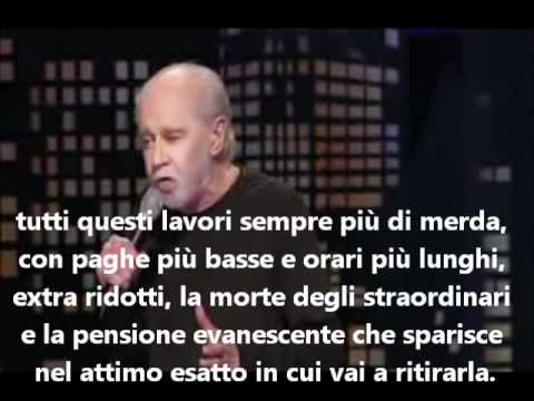 George Carlin   Il sogno americano - The american dream