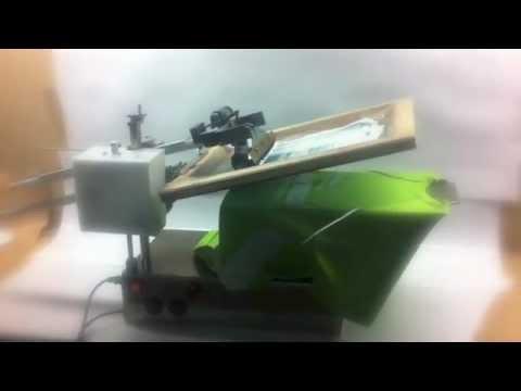 Maquina de serigrafia Eléctrica Plana i Rotativa DMP-S2A