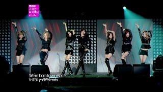 getlinkyoutube.com-【TVPP】SNSD - The Boys, 소녀시대 - 더 보이즈 @ Korean Music Wave in L.A Live