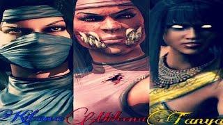 getlinkyoutube.com-MKX - Battle Of The Edenians (Tanya vs Kitana, Kitana vs Mileena, Tanya vs Mileena)