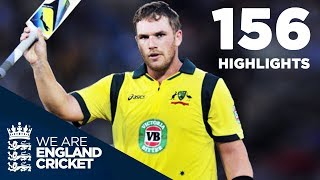 Aaron Finch 156 Off 63 - Highest Ever IT20 Score   Full Highlights