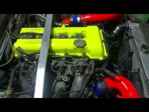 Расположение у Nissan Рнесса номера двигателя