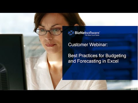 Best Practices for Budgeting and Forecasting