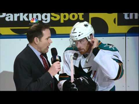 Martin Havlat OT game winner goal. San Jose Sharks vs St. Louis Blues 4/12/12 NHL Hockey