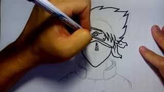 getlinkyoutube.com-วาดการ์ตูน กันเถอะ สอนวาดรูป คาคาชิ จาก การ์ตูน นารุโตะ