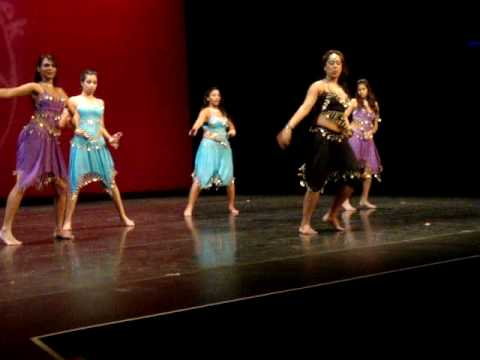 Chutney / Soca Dance Performance - Trinidad & Tobago Student Federation ( Part 2 )
