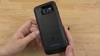 getlinkyoutube.com-Samsung Galaxy S6: ZeroLemon 2800mAh Battery Case!
