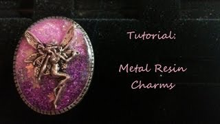 getlinkyoutube.com-[TUTORIAL] Metal Resin Charms