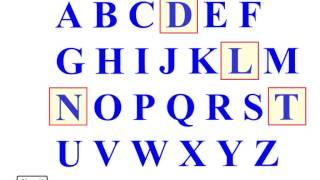 getlinkyoutube.com-ABC / Alphabets - Алфавит / Фонетика , 1-сабак