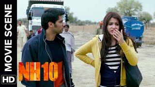 Neil Gets Slapped By Darshan | NH10 | Movie Scene | Anushka Sharma, Neil Bhoopalam