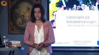Lösningen på klimatutmaningen – ren energi från norra Sverige? - Jenny Söderström