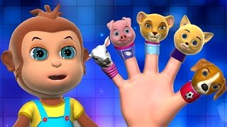 Daddy Finger | Finger Family Song | 3D Finger Family Nursery Rhymes & Songs for Children