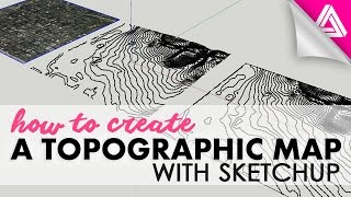 getlinkyoutube.com-How to Create A Topographic Map with Sketchup