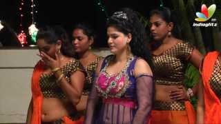 getlinkyoutube.com-Khatham Khatham Tamil Movie | Hot Item Songs Making | Tharika Unseen Video | Shooting Spot
