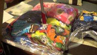 getlinkyoutube.com-6 x Pack Seal Compressed Vacuum Space Saver Storage Bags
