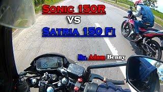getlinkyoutube.com-Hot! Sonic 150R VS Satria 150 Fi Drag Racing (201m, 402m, & 1000m) - ADAM BENNY