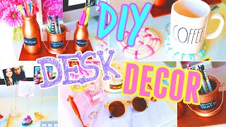 DIY Desk Decor & Organization!! 2015
