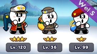 getlinkyoutube.com-【Wei S】240 MOON Brothers II 饅頭三兄弟(軍隊版) LINE Rangers (司令官饅頭人,Navy Moon,Marine Moon,Commander Moon)