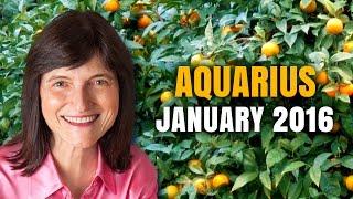 getlinkyoutube.com-Aquarius January 2016 Horoscope | HAPPY BIRTHDAY! | Barbara Goldsmith