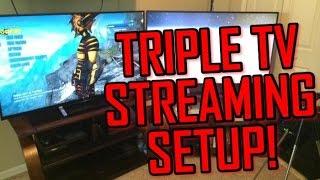 getlinkyoutube.com-My Triple TV Streaming and Youtube Setup!