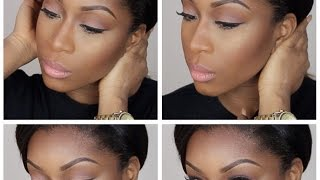 getlinkyoutube.com-Neutral Glam| Make Up Tutorial