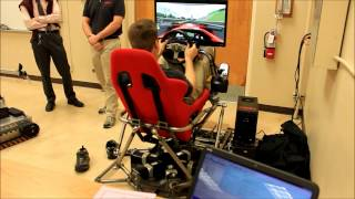 6DOF stewart platform motion simulator