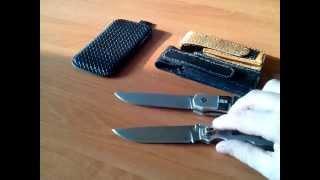 Складной нож своими руками.