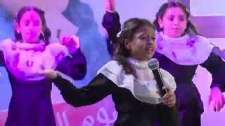 قناة اطفال ومواهب الفضائية نشيد جديد شكراً معلمي اداء الهام الدوجان