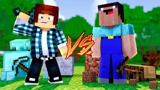 getlinkyoutube.com-Minecraft: NOOB VS PRO - ( Nova Série c/ TazerCraft)