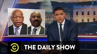 getlinkyoutube.com-Donald Trump's Eventful Martin Luther King Day Weekend: The Daily Show