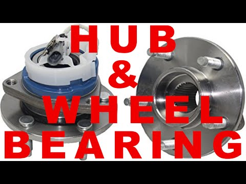 ABS hub & WHEEL BEARING assembly - front wheel drive cars GM Buick Chevy Olds Pontiac
