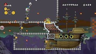 getlinkyoutube.com-NSMBW Custom │Captain Bowser's Revenge │MiniContest │New Super Mario Bros Wii