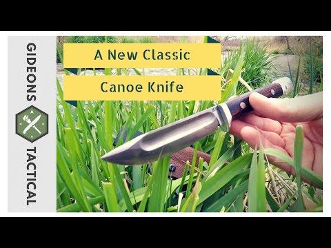A New Classic: Bark River Canoe Knife