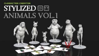 Character Creator - Stylized Animals Promo Trailer