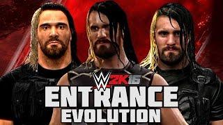 getlinkyoutube.com-WWE 2K16 - Seth Rollins Entrance Evolution!! ( WWE 2K14 To WWE 2K16)