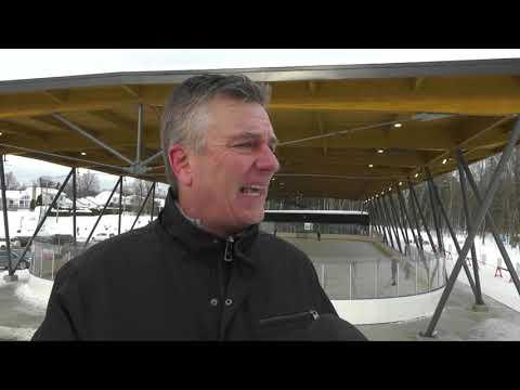 Double honneur pour la patinoire couverte de Boischatel