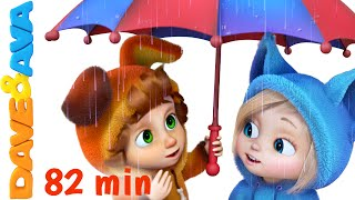 getlinkyoutube.com-Rain Rain Go Away | Nursery Rhymes Collection and Baby Songs from Dave and Ava