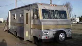 getlinkyoutube.com-Road trip in a 1970 Dodge Motorhome: Santa Fe, NM to Texarkana, AR