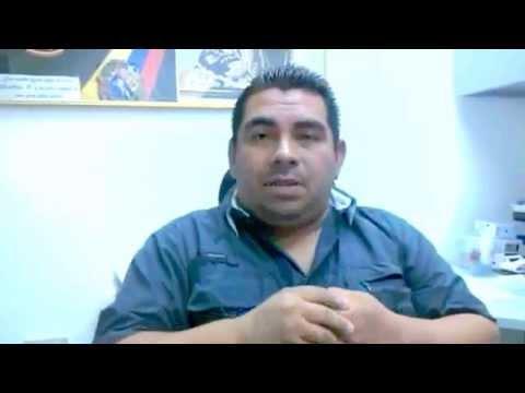 Christian Pereira del Sindicato de Trabajadores de Chrysler, en Valencia, aporrea tvi, marzo 2015