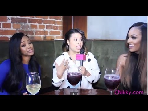Basketball Wives L.A.Talk Fight w/Brittish & Warning Draya About Men Cheating