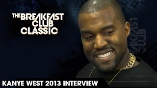The Breakfast Club Classic - Kanye West Interview 2013 width=