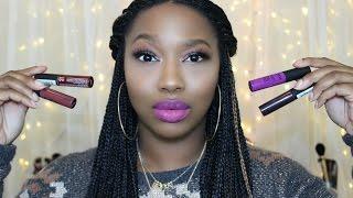 getlinkyoutube.com-NEW Nyx Soft Matte Lip Cream | Lip Swatches