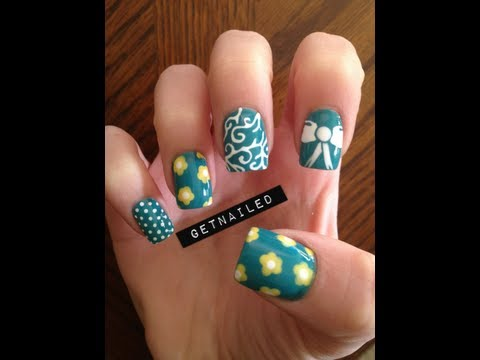 Spring Nails -zOLabwYAxco