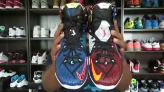 getlinkyoutube.com-LEBRON 12 'WHAT THE?' REVIEW AND ON FEET!!!